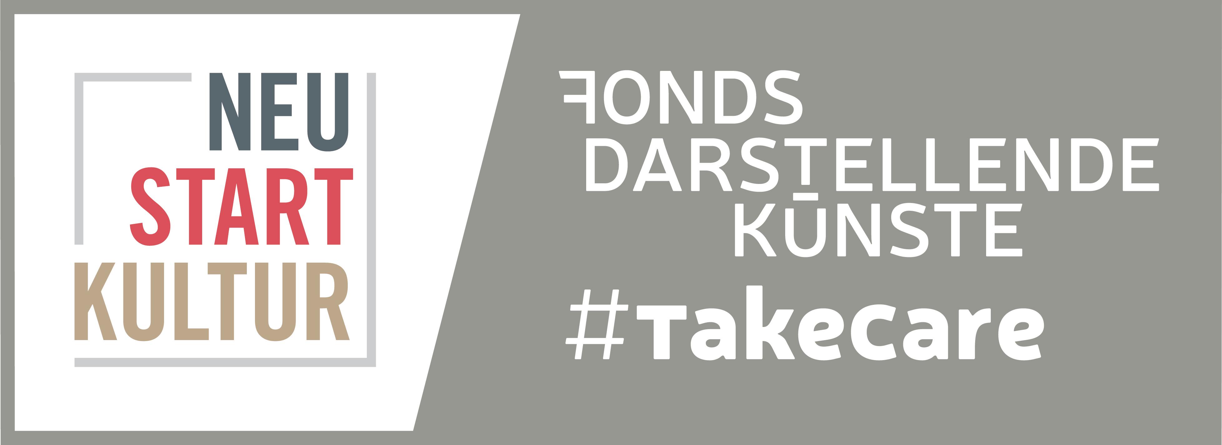 Logo von Fonds Darstellende Künste - Projekt #TakeCare