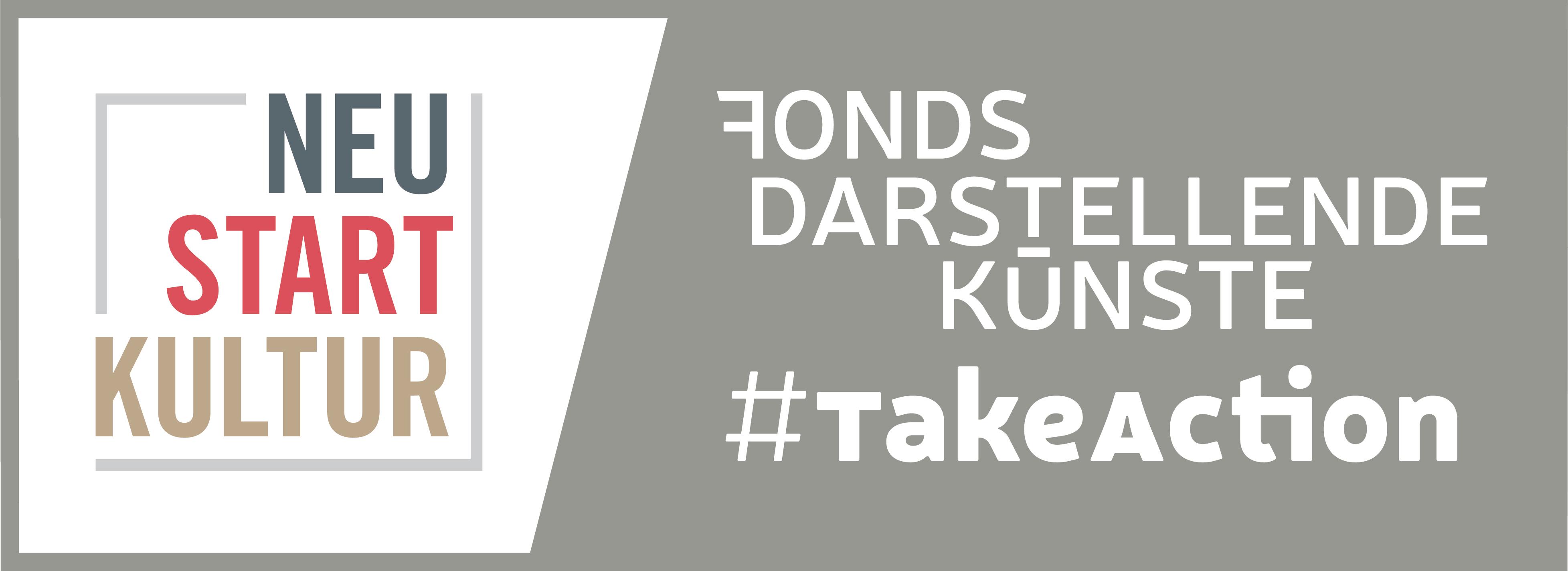 Logo von Fonds Darstellende Künste - Projekt #TakeAction