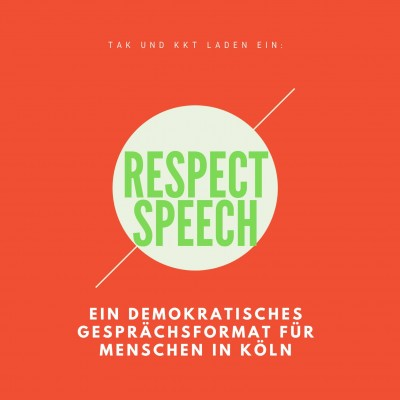 RESPECT SPEECH in Köln