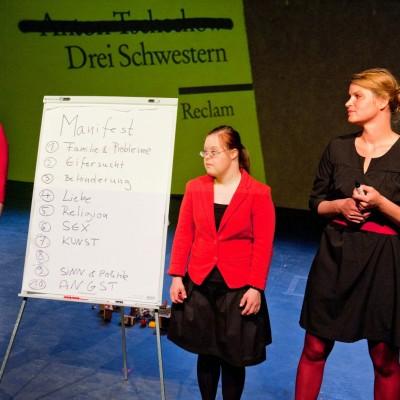 There is no orchestra. Ein Schwesternprojekt